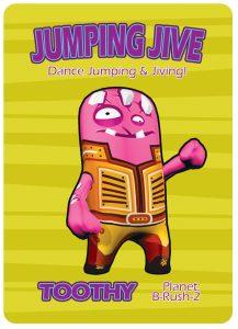 Jumping Jive - Deed Card