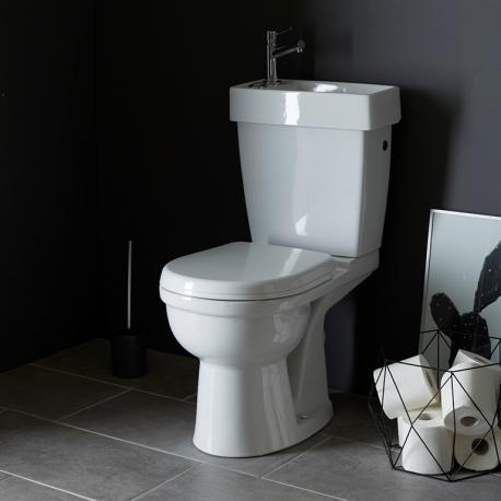 pack wc 2 en 1 ensemble toilettes pas cher sur planete bain