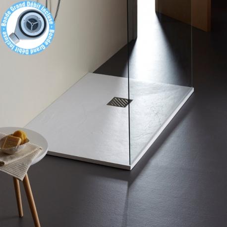 receveur extra plat blanc receveurs pour douche grande taille
