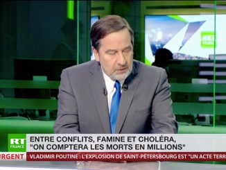 Capture d'écran RT France Décembre 2017