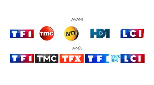 Rebranding du Groupe TF1 janvier 2018