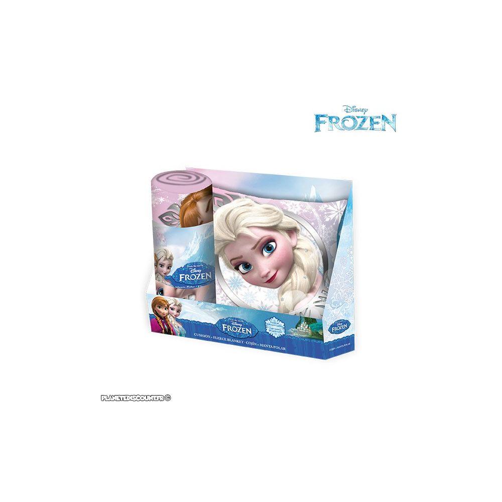 Set De Lit Disney Coussin Couverture Polaire La Reine