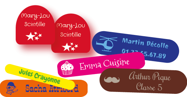 Etiquettes personnalisables C MonEtiquette