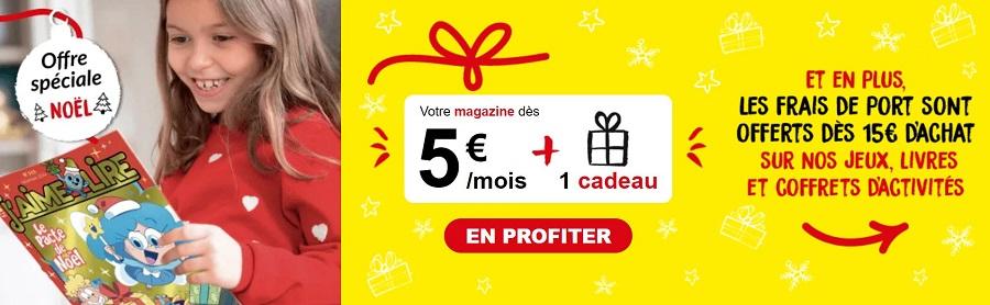 Offre de Noël Bayard Jeunesse