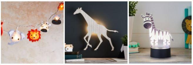 Des luminaires pour la chambre de vos enfants