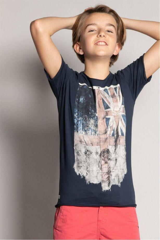 T-shirt délavé garçon