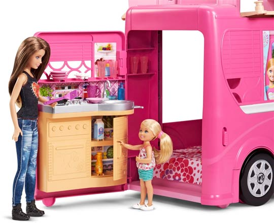 Camping Car Duplex De Poupe Barbie
