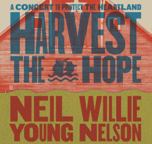 Harvest the Hope Conert Poster