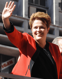 Brazilian President Dilma Rousseff (Source: Creative Commons)