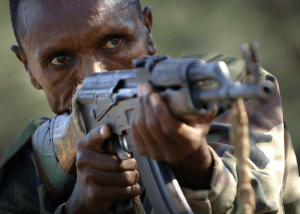 Soldier of the Ethiopian National Defense Force, 2006