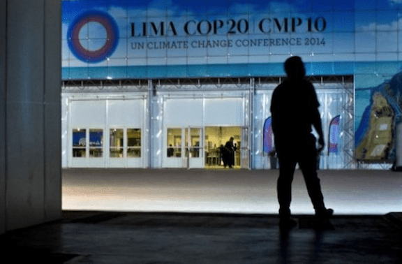 COP20 Climate Summit (Source: Creative Commons)