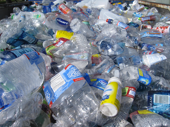 Plastic bottles (Source: Creative Commons)