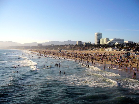 Santa Monica Bay (Source: WikiMedia Commons)