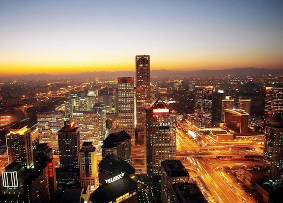 Beijing's central business district. (Image Credit: WikiMedia Commons)