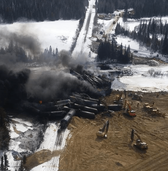 Photographs from the Gogama derailment, taken by Glenn Thibeault, M.P.P for Sudbury and Parliamentary Assistant to the Minister of Environment and Climate Change.