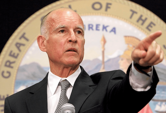 California Governor Jerry Brown. (Image: business.ca.gov)