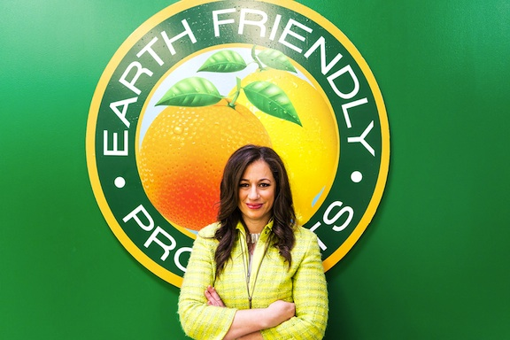 Kelly Vlahakis-Hanks, CEO of Earth Friendly Products. (Photo Credit: Earth Friendly Products)