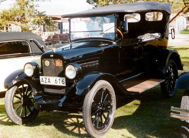 Overland Model 91 Touring 1923. (Photo Credit: Lars-Göran Lindgren)