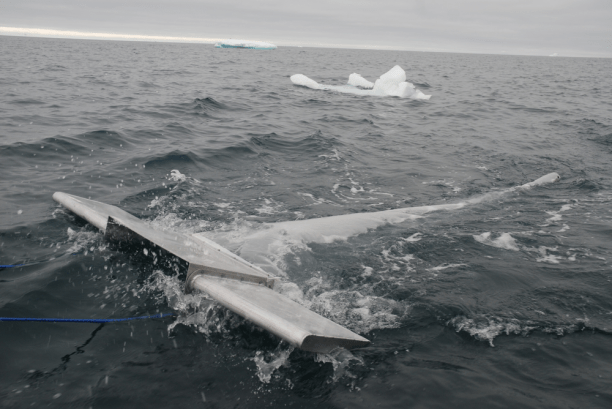 A research trawl gathering microplastics. (Photo: 5 Gyres)