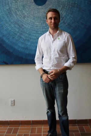 Philippe Cousteau, Jr., at the Climate Reality Leadership Corps Training in Miami, FL. (Photo Credit: Juli Schulz)