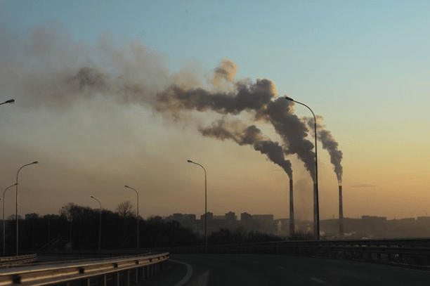 Factory emissions. (Photo via Pixabay)