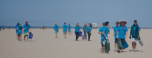 Surfrider volunteers. (Photo courtesy of Surfrider Foundation)