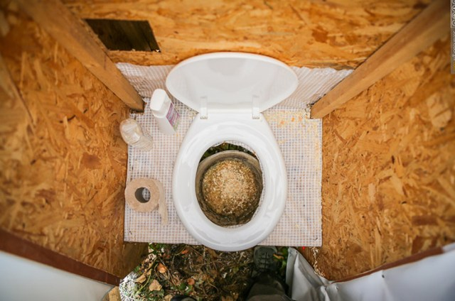 Dry toilet. (Photo via FuturePerfect)