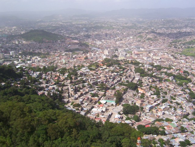 Tegucigalpa, the capital of Honduras. (Photo via NGerda / WikiMedia Commons)