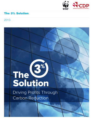 Click the image to read WWF's 3% Solution report.