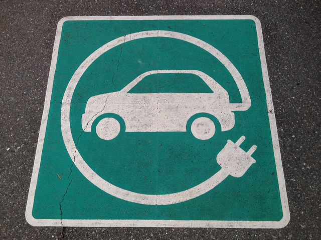 Charging stations, marked with parking spots like these, are popping up all over the U.S. (Photo: Flickr)