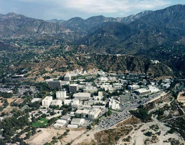 The Jet Propulsion Laboratory in Pasadena, California. (Photo: NASA / JPL)