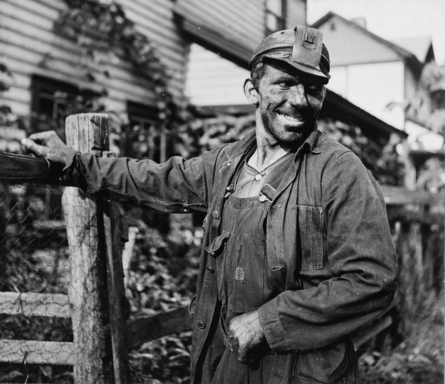 A polish coal miner working in West Virginia. (Photo: Wikimedia Commons)