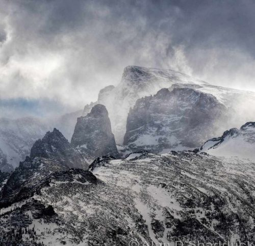 A fierce winter in the mountains. Photo Credit: Alan Shadduck.