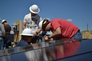 The Obama Administration launched a solar job growth initiative that will teach 75,000 people marketable solar-industry related skills by 2020. (Photo courtesy of TSF)