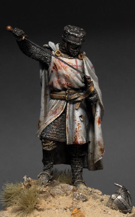Completed Knight Templar PlanetFigure Miniatures