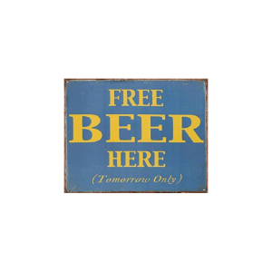 free beer here insegna 10041