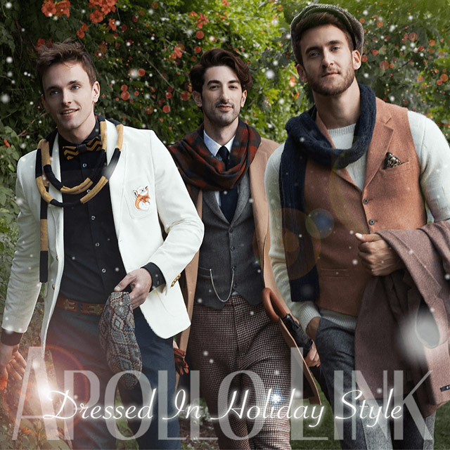 """Apollo Link """"Dressed In Holiday Style"""""""