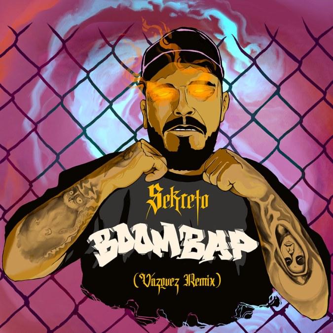 "Sekreto & Vazquez ""Boom Bap (Vazquez Remix) – Single"""