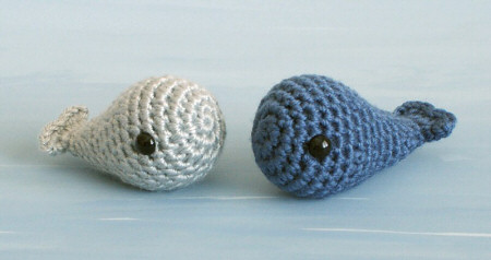 My Next Crochet Project: TINY WHALES! (2/2)