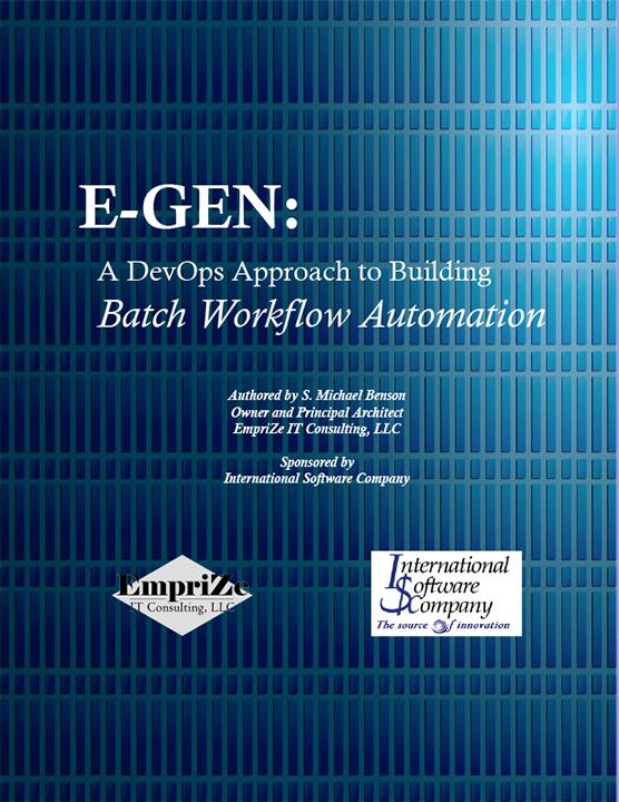 ISC Software - E-GEN