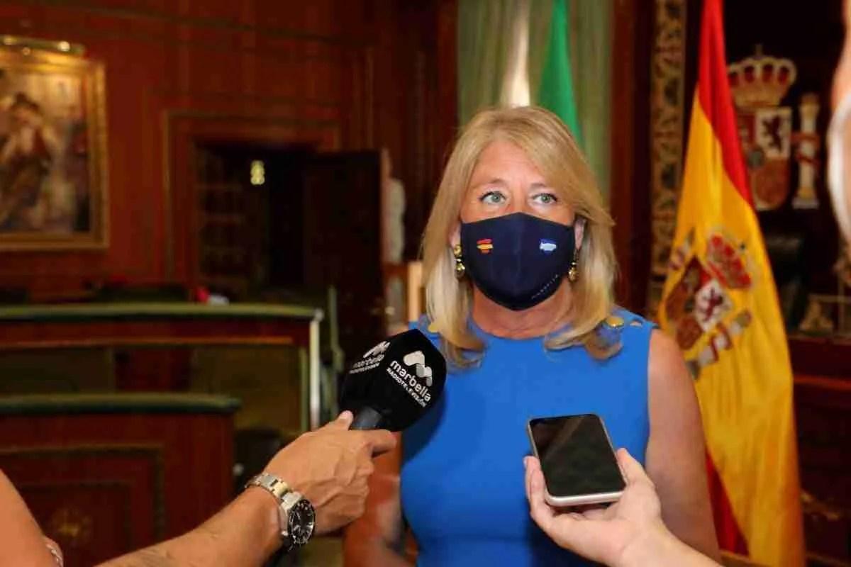 Marbella Mayor Angeles Munoz