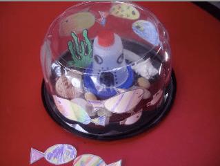 recycle plastic container aquarium