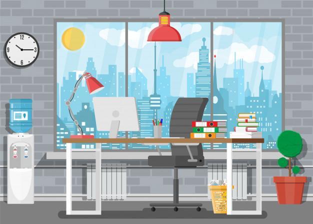 Tänk på ljuset på (hemma)kontoret