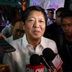 Marcos son confident he will soon be Philippine VP
