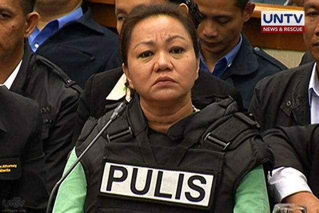 Napoles placed under provisional witness protection program