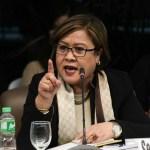 De Lima wants Senate probe on harassment of fishers at Panatag Shoal
