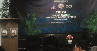 TIEZA, DBP, DCI formally launch the new onine travel tax payment system