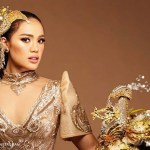 Michele Gumabao lands in Top 15 of Miss Globe 2018