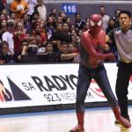 Man in Spiderman costume disrupts Game 5 of PBA Finals