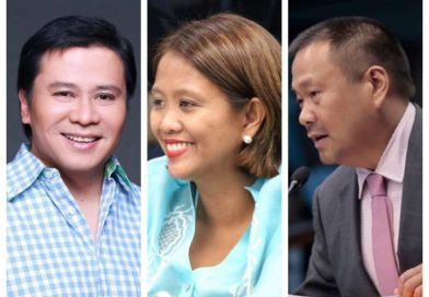 Jinggoy Estrada congratulates Nancy Binay for entering 'Magic 12' in Senate polls, taunts half-brother JV Ejercito